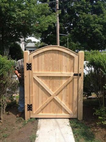 G10 6x4 Reverse Scalloped Universal Gate Avo Fence Amp Supply