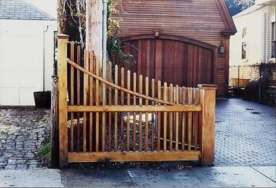 Chestnut Hill - Cedar Fence