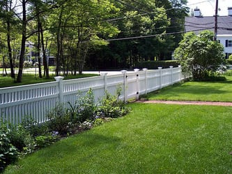 Chestnut Hill Capped Vinyl Fence