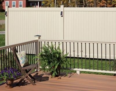 Bufftech New Lexington Vinyl Fence