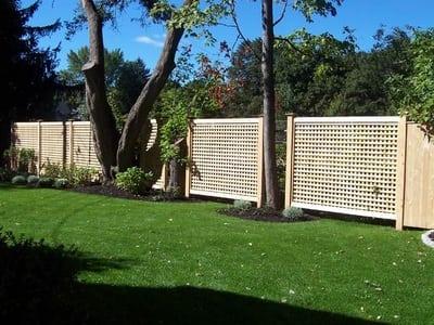Dover - Cedar Fence