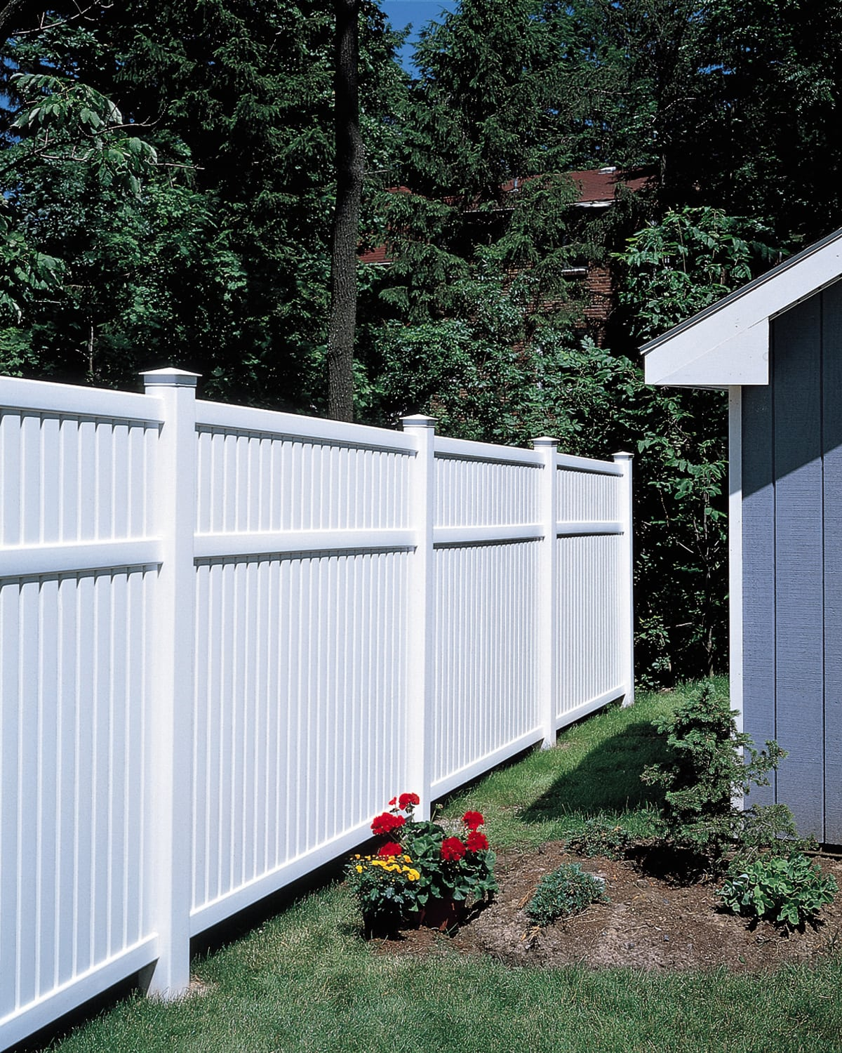 Bufftech Imperial Vinyl Fence Avo Fence Amp Supply
