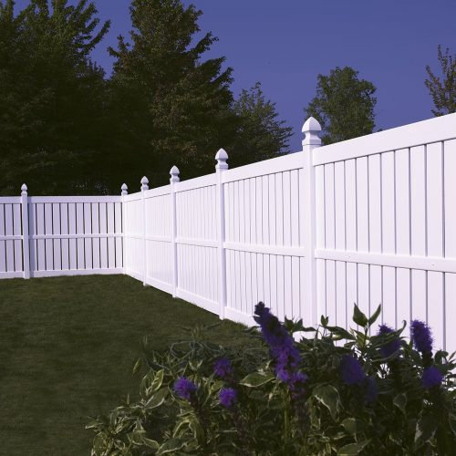 Bufftech Millbrook white Vinyl Fence- 1200