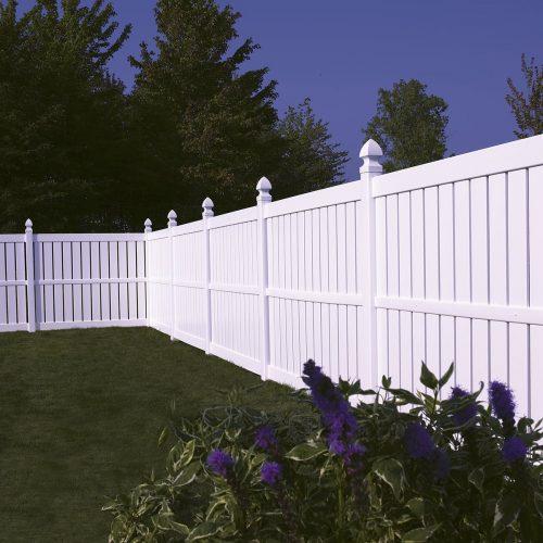 Bufftech Millbrook white Vinyl Fence- 1200