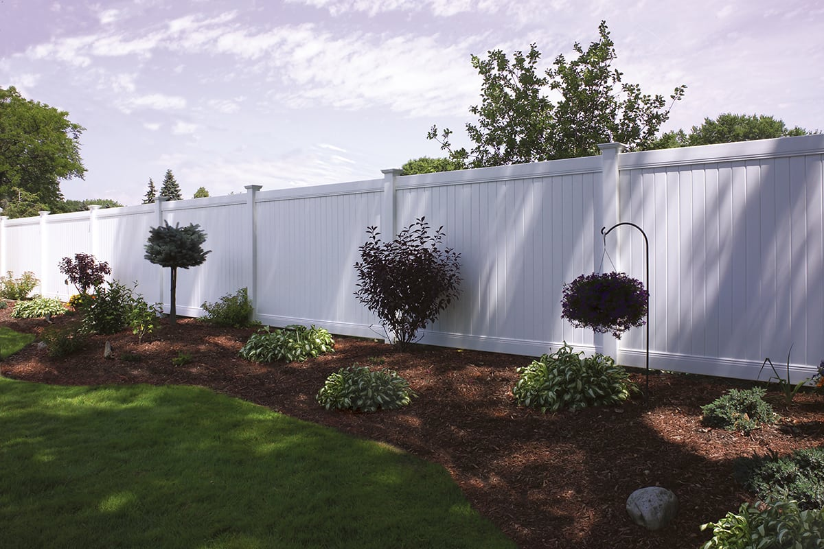 Bufftech New Lexington Vinyl Fence Avo Fence Amp Supply