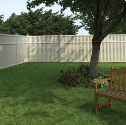 vinyl fencing for security and privacy, vinyl fence parts, vinyl fence slats