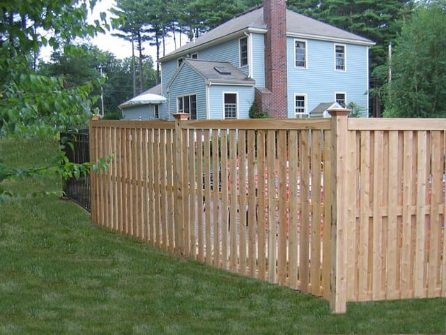 how to install wood fence