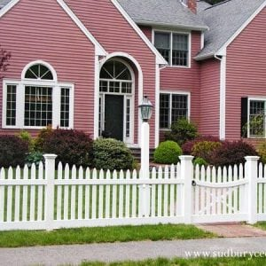 Sudbury Cedar, side yard, garden, or driveway entrance, perimeter gate design free