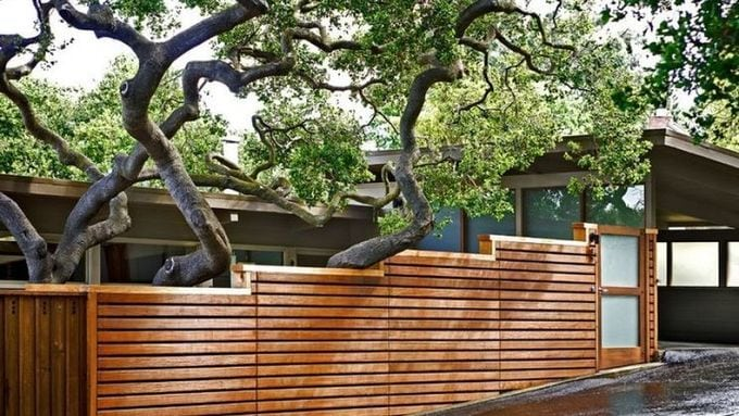 Cedar Fence for Specific Space