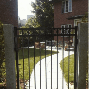 commercial fencing, commercial fences, gates, custom gates