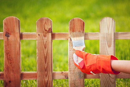 how to care for wood fencing